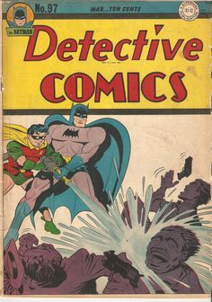 From my collection FOR SALE $137.50 http://www.ebay.com/itm/Detective-Comics-97-Mar-1945-DC-GD-VG-/121924709235?ssPageName=STRK:MESE:IT
