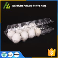 Clear Transparent Plastic Pet Pvc Bulk Egg Cartons Egg Carton Eggs Carton