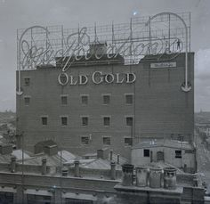 The MacRobertson's Old Gold confectionery factory, Fitzroy, ca. 1925. Royal Historical Society of Victoria