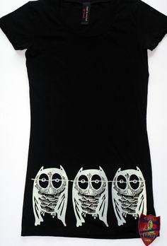 Owls x 3 @ bottom