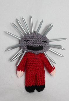 Craig Jones 133 Slipknot Miniature pocket doll made to order
