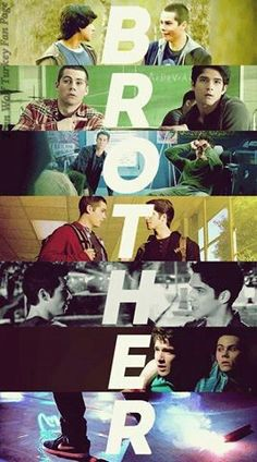 Scott and Stiles!!! :) BROTHERS