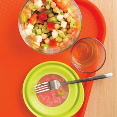 , Number of Weight Watchers Meal Plans, Ricardo Recipe, Chickpea Salad, Cold Meals, Honey Mustard, Kids Meals, Entrees, Salads, Veggies
