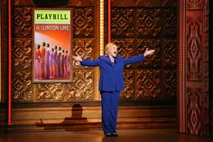 70th  ANNUAL  TONY  AWARDS  ~  Glenn Close as Hillary Clinton.
