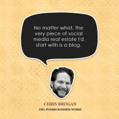 Chris Brogan / CEO of Human Business Works / CEO, publisher and acting executive editor of Owner magazine http://www.chrisbrogan.com/ ownermag.com