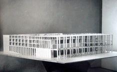 Terragni, Progetto per il Palazzo dei Ricevimenti e dei Congressi all'E.42, concorso nazionale, Roma