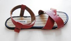 Another really cute sandal diy tutorial