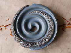 Seifenschale Seifenschnecke silberblau                                                                                                                                                                                 Mehr