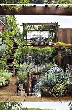 Crikey, how spectacular is this NYC rooftop garden ? I gasped with excitement when I first spotted it. It's in the heart of Chelsea  and t...