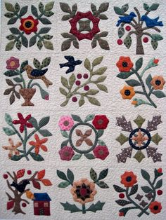 Finely Finished Quilts: Bonnie's Applique