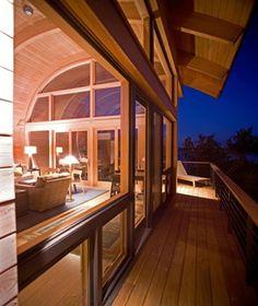 Arquitectura sostenible / Moderna Casa Guest, Florida http://www.arquitexs.com/2012/06/casa-guest-arquitectura-sostenible.html
