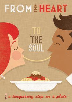 Scaddabush - Italian Restaurant by Zara Picken, via Behance
