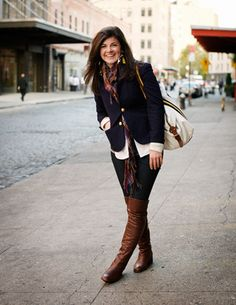 Over The Knee Brown Boots - Cr Boot