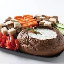 Wegmans Copycat Rye Boat Dip: 1 lb. loaf round rye bread (cubed) 1 c ...