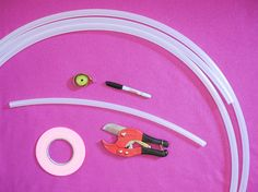 Gleeful Things » DIY Tutorial: How to Make a Polypro Hula Hoop!