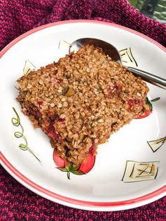 Baked Strawberry Oat