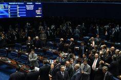 AO VIVO: acompanhe as repercussões do afastamento de Dilma Roussef EVARISTO SA/AFP