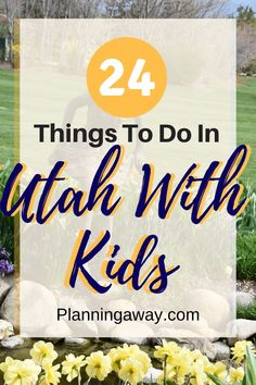 """Are you looking for things to do in Utah with kids? Awesome, you are in the right place! Utah is one of the most family friendly states in the USA. If you search on Google """"which state has the most kids in the USA,"""" Utah wins! It is true, I will show you all the fun things to do in Utah! Utah Vacation, Best Family Vacations, Road Trip With Kids, Family Road Trips, Kids Things To Do, Fun Things, Perfect Road Trip, Road Trip Hacks, United States Travel"""