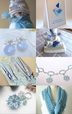 LIGHT BLUE LOVE YOU by Vickie Wade on Etsy--Pinned with TreasuryPin.com
