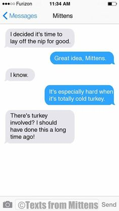 NEW Daily Mittens: The Cold Turkey Edition More Mittens: http://textsfrommittens.com/ Order Mittens' book: http://amzn.to/1BVvMmB