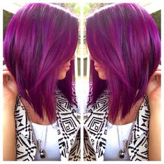 Lovely colour and style for girls with short hair