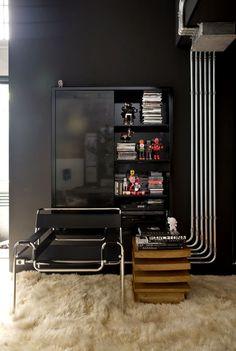 Квартира архитектора : Фотографии красивых вещей — мебель, интерьеры, архитектура