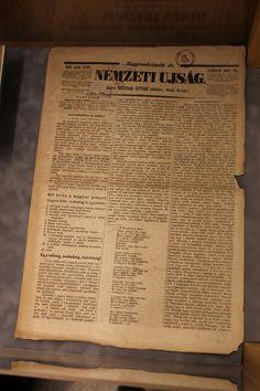 A Nemzeti Ujsag is címlapon hozta a Nemzeti Dalt