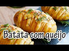 Receita de Batata laminada com queijo e alecrim - Receitas e Temperos