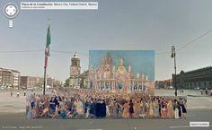 La Ciudad de México del siglo XIX en Google Street View 02-plaza-de-mexico