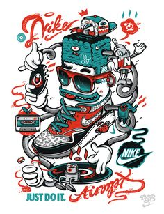 NIKE x DXTR / Winter'12 - Spring'13 by DXTR , via Behance