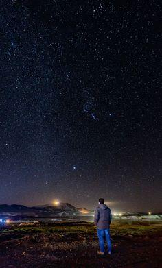 A sky full of stars! by Aziz Nasuti on Sky Full Of Stars, Northern Lights, Landscapes, Nature, Travel, Paisajes, Viajes, Naturaleza, Destinations