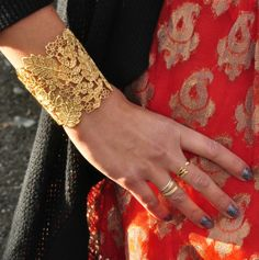 From my latest post on LoveItNeedIt.com. #freepeople #holidaydress #stelladotstyle #cuffbracelet #lacecuff #arrowring #nailwraps #fashionblogger