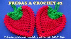 FRESA A CROCHET #2 en punto piña para adorno de cocina o agarraderas paso a paso en video tutorial - YouTube