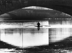 Rowing Under Western Avenue 1984