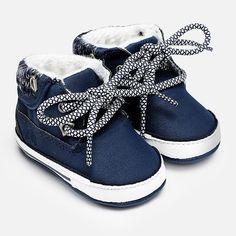 Mayoral Baby Boy Lace Up Boots - Night #babyboyfashion,