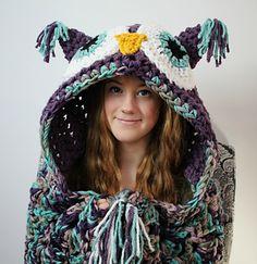 Bulky & Quick Hooded Owl Blanket Pattern ($5.99)