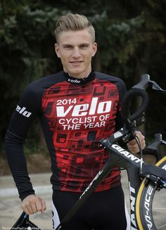 Marcel Kittel has been voted 'Cyclist of the Year 2014' by Velo Pic:CorVos/PezCyclingNews.