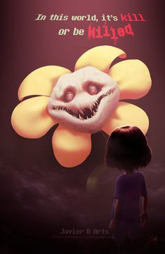 FLOWEY (UNDERTALE) by JavierG-Arts