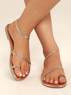6f6051992328 2018 Summer Beach Flat Sandals Shoes