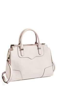 Blush! Rebecca Minkoff Leather Satchel