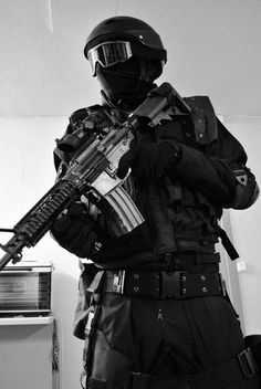 Black and White navy army marine gun marines grom special forces SWAT navys Military Gear, Military Police, Military Weapons, Ghost Soldiers, Swat Police, Military Special Forces, Future Soldier, Special Ops, Black Ops