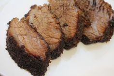 How to make Beef Brisket in the oven Alright y'all it is officially barbecue season… well in my household it is. We Seattle folks see a little sunshine, and we loose our damn minds. Oven Baked Brisket, How To Cook Brisket, Beef Brisket Recipes, Smoked Beef Brisket, Meat Recipes, Cooking Recipes, Party Recipes, Cooking Ideas, I Heart Recipes
