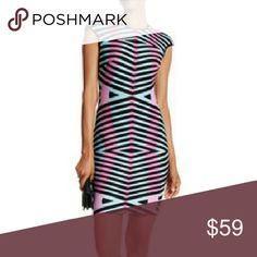 Plus size dress This has completely sold out online reg $125.00 this is a sought-after look 97% polyester 3% spandex lining is 100% polyester very good quality and material dress maia los angeles  Dresses Midi