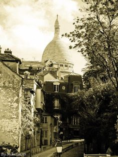 Paris. By NikitaDB. Sacre Coeur. Montmartre XVlll