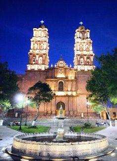 Templo de San Jose en Morelia, Michoacán. Mexico.