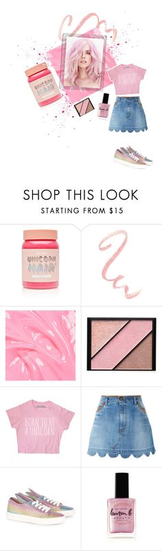 """Color Me Pink!!"" by kay79 ❤ liked on Polyvore featuring beauty, Lime Crime, Polaroid, Elizabeth Arden, RED Valentino, Minna Parikka and Lauren B. Beauty"
