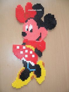Minnie hama beads by creation-nath