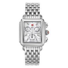 Michele Watch Women's Deco Diamond Dial Watch