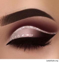 Grey and black with glitter - LadyStyle