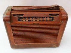 Philco Roll Top AM Tube Radio Model 46-35